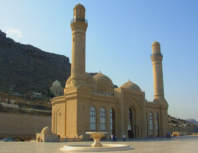 مسجد باب الهيبة احد الاماكن السياحية فى باكو