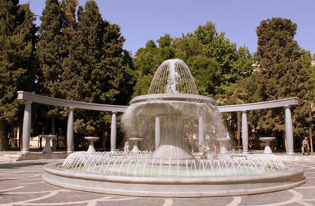 The Fountains square