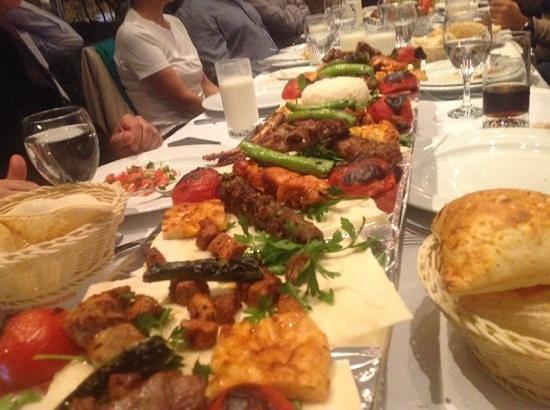 المأكولات التركية في اذربيجان