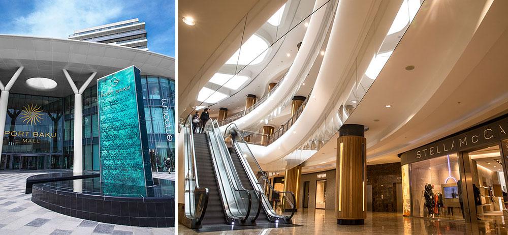 مركز بورت باكو مول Port Baku Mall