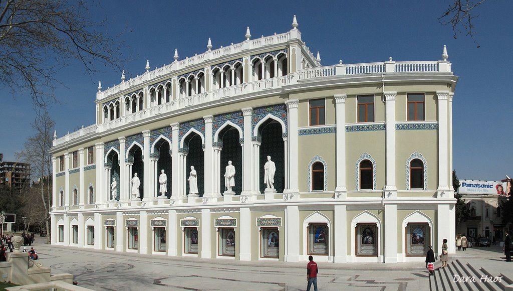 المتحف الوطني للأدب الأذربيجاني The National museum of Azerbaijan literature