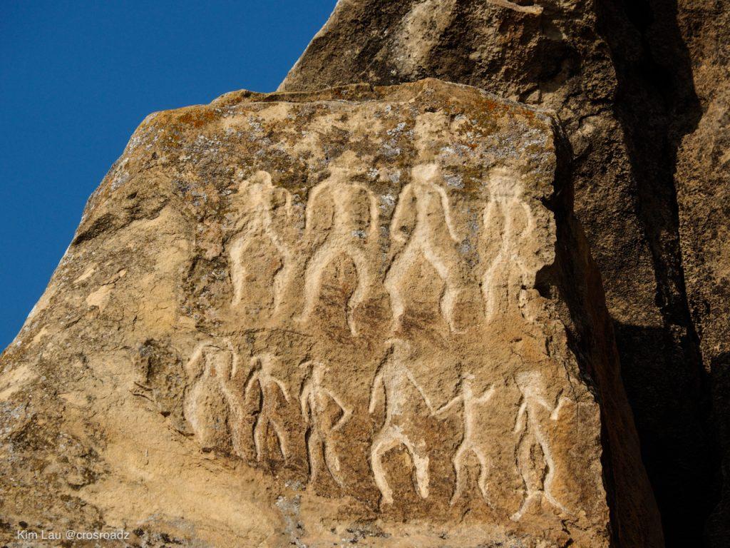 كوبوستان الفن الصخري Gobustan Rock Art