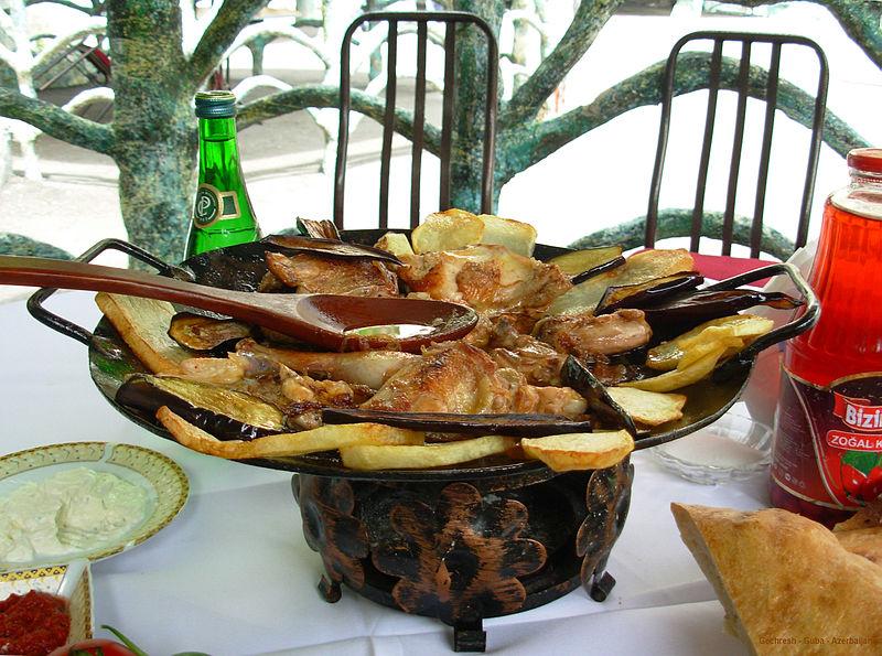 Sadj, Azerbaijani cuisine (Gechresh, Guba)