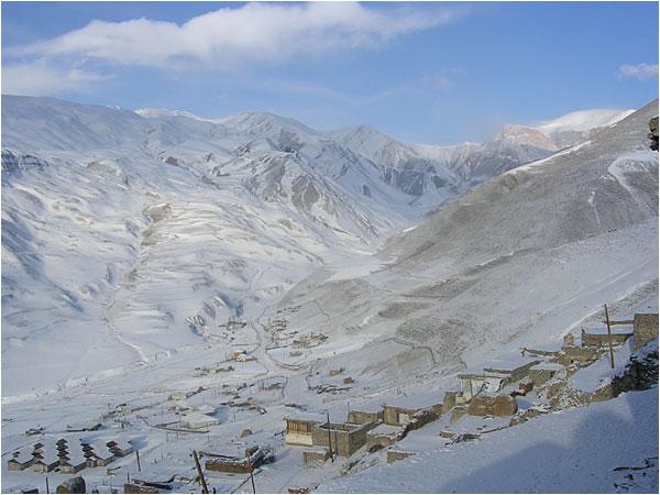 Azerbaijani_Village Skyline of Khinalug