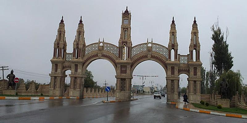 موقع مدينة خاشماز الجغرافي